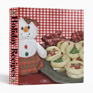 Christmas Cookies 3 Ring Binders
