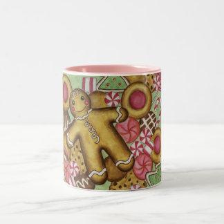 Christmas Cookies Gingerbread Man Coffee Mug