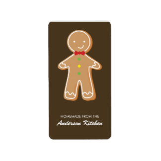 Christmas Cookies Labels