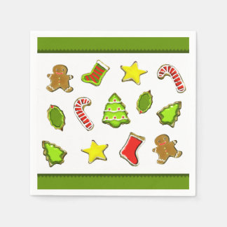 Christmas cookies paper napkins