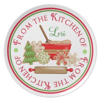 Christmas Cookies Plate