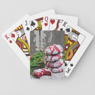 Christmas Cookies Playing Cards
