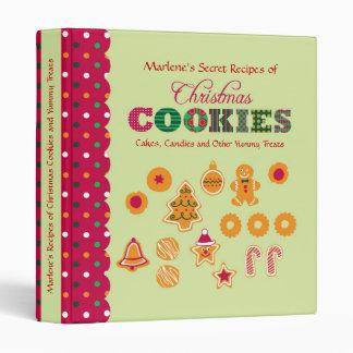 Christmas Cookies Recipe Binder