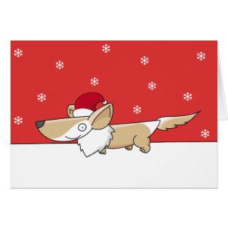 Christmas Corgi Cards