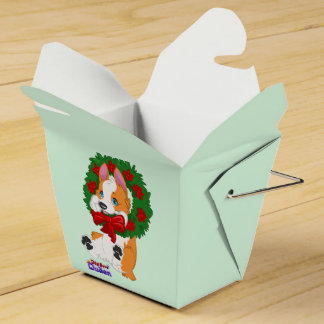 Christmas Corgi Gift Box