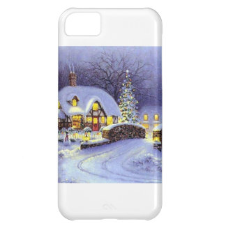 Christmas Cottage Cover For iPhone 5C