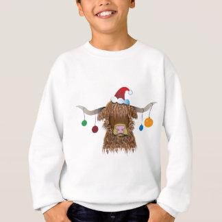 Christmas Cow Sweatshirt