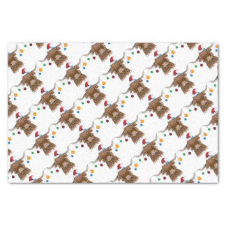 Christmas Cow Tissue Paper