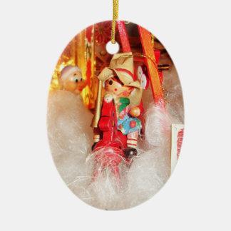 Christmas Cowboy Ornament