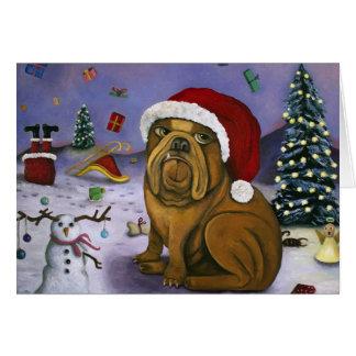 Christmas Crash Card