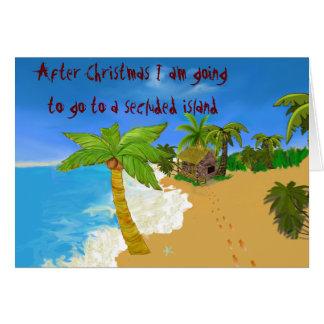 Christmas Creditors Card