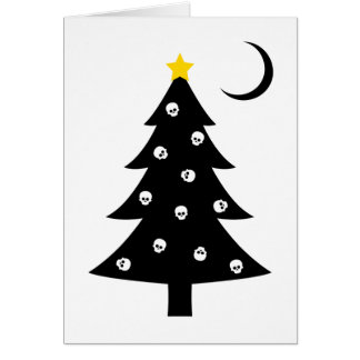Christmas Creepy Tree Card