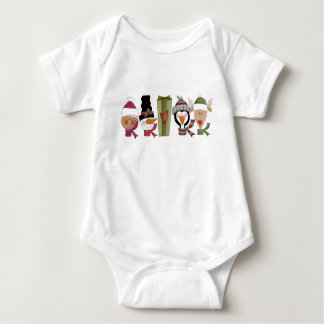 Christmas Critters Baby Bodysuit