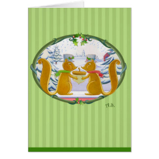 Christmas Critters Card