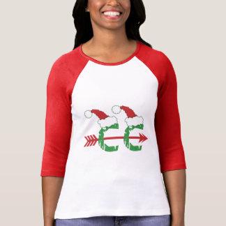 Christmas Cross Country Running T-shirt