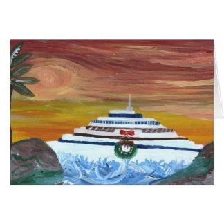 Christmas Cruise Card