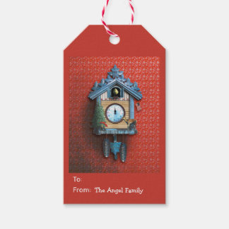 Christmas Cuckoo Clock Gift Tags Pack Of Gift Tags