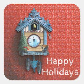 Christmas Cuckoo Clock stickers