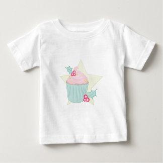 Christmas Cupcake Baby T-Shirt