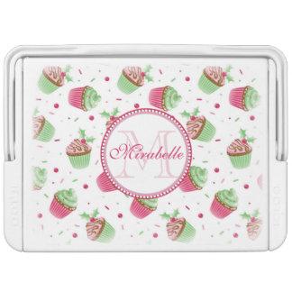 Christmas cupcake design, Name & Monogram