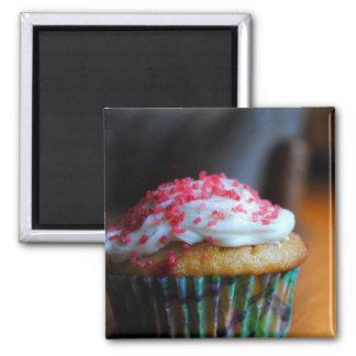 Christmas Cupcake Magnet