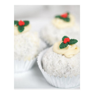 Christmas Cupcakes Full Colour Flyer