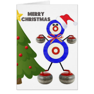 Christmas Curling Card
