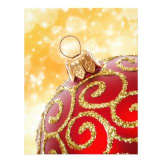 Christmas Custom Letterhead