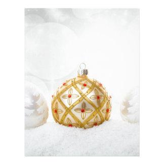 Christmas Customized Letterhead