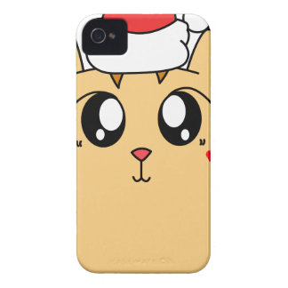 Christmas Cute Kitty Cat iPhone 4 Case-Mate Case