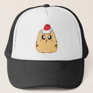 Christmas Cute Kitty Cat Trucker Hat