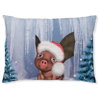 Christmas, cute little piglet pet bed