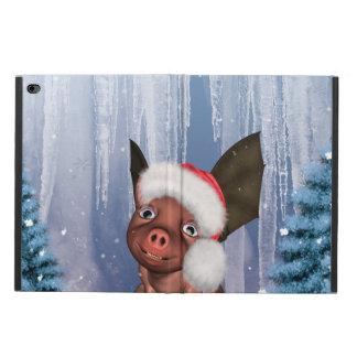 Christmas, cute little piglet powis iPad air 2 case