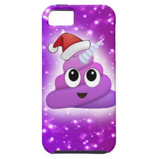 Christmas Cute Unicorn Poop Emoji Glow iPhone 5 Case