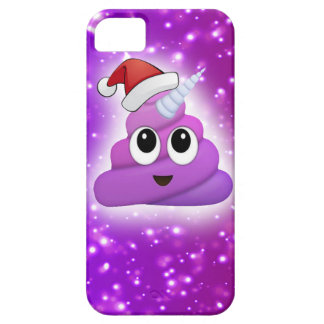 Christmas Cute Unicorn Poop Emoji Glow iPhone 5 Covers