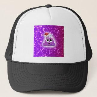 Christmas Cute Unicorn Poop Emoji Glow Trucker Hat