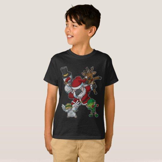 Christmas Dabbing Squad Dab T-Shirt