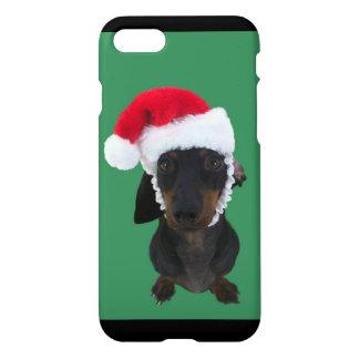 Christmas Dachshund iPhone 7 Case