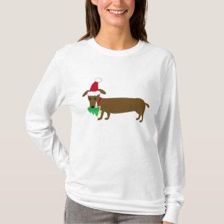 Christmas Dachshund T-Shirt
