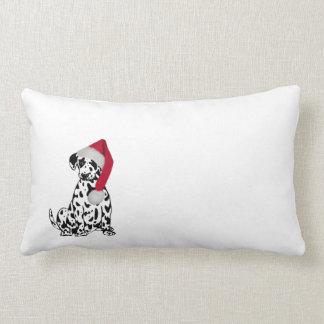 Christmas Dalmatian Lumbar Pillow