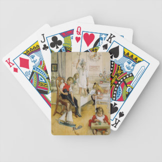 Christmas Day in the Nursery Bicycle Playing Cards