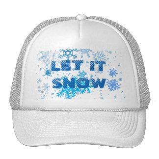 Christmas Day Snowfall Trucker Hat
