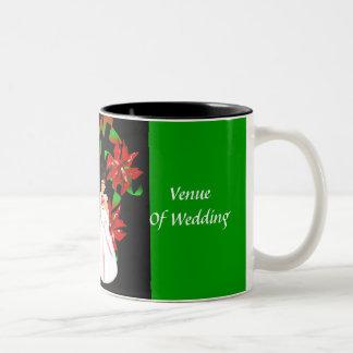 Christmas/December Green Wedding Shower Mug Mug