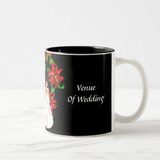 Christmas/December Wedding Shower Mug Coffee Mugs