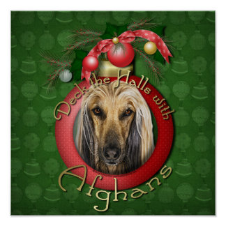 Christmas - Deck the Halls - Afghans Posters