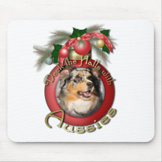 Christmas - Deck the Halls - Aussie - Gustine Mousepads