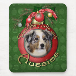 Christmas - Deck the Halls - Aussies Mouse Pad