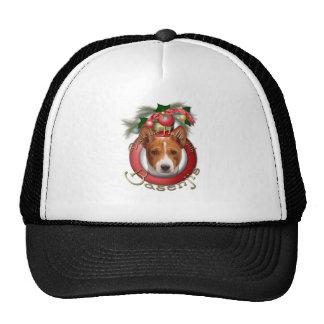 Christmas - Deck the Halls - Basenjis Trucker Hats