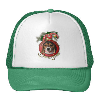 Christmas - Deck the Halls - Beagles Trucker Hat