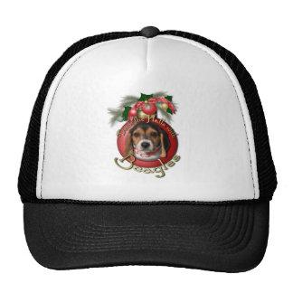 Christmas - Deck the Halls - Beagles Hats